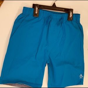Original Penguin NWT Boys Shorts Blue Size 5Y